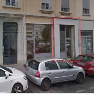 Location local commercial 40 m² non divisibles