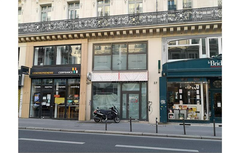 Location Commerce/boutique 188 m² non divisibles
